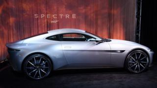 The Aston Martin DB10, built exclusively for the latest James Bond film 'Spectre'