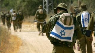 Reclutas del ejército israelí