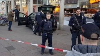 صحنه حمله در هایدلبرگ