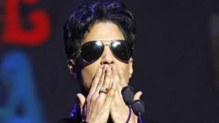 Prince performs at the Apollo Theater in New York. Photo: October 2010
