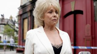Barbara Windsor as Peggy Mitchell