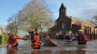 Storm Desmond brought flooding to Carlisle and the North