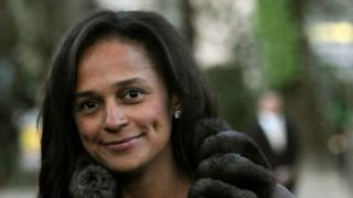 La fille aînée du président de angolais prend le contrôle de la FBA, la plus grande banque de l'Angola.