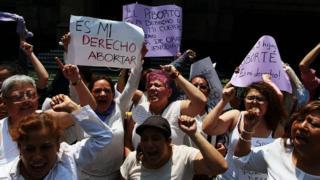 Демонстрация за аборт