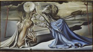 "Proyecto para ""Tristán Loco"" de Salvador Dalí."