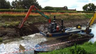 Somerset Levels dredging
