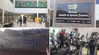 Revamped Graves Health And Sports Centre Opens Its Doors Bbc News