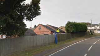 A speed camera in Daventry