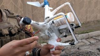Modified drone