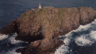 The helicopter's black box was located close to Blackrock Lighthouse