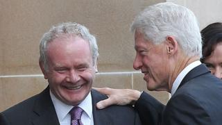 Bill Clinton to attend Martin McGuinness' funeral