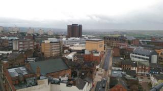 Stoke-on-Trent skyline