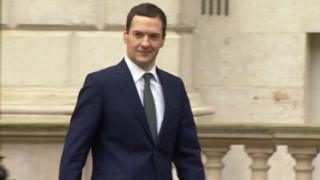 George Osborne leaving the Treasury