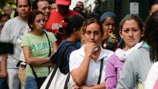Images The perils of doing business in Venezuela - BBC News 3