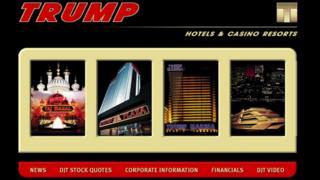 Donald Trump website