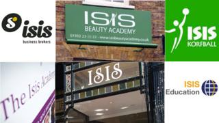 What's in a name: Is 'Isis' too toxic for businesses to use? - BBC News