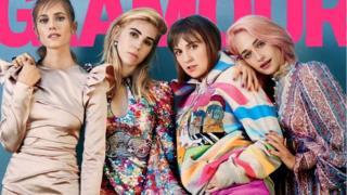 A capa da edição de fevereiro da Glamour