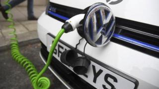 Electric VW car