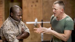 David Oyelowo and Daniel Craig in Othello