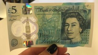 Billete de £5