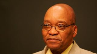 South African President Jacob Zuma (12 October 2016)