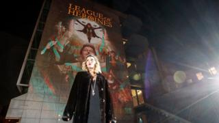 The 'HerStory' festival of illuminations is paying homage to great Irish women over the weekend