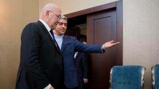 وزاری اقتصاد ایران و فرانسه