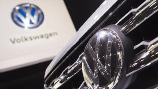 The new Volkswagen Atlas SUV is seen during the 2017 North American International Auto Show in Detroit, Michigan