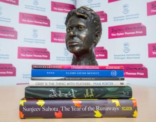 Dylan Thomas Prize books