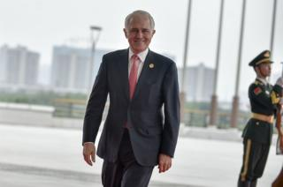 Australian Prime Minister Malcolm Turnbull insists everything at work