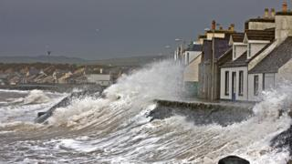 Waves at Port William