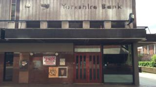 Closed branch of Yorkshire Bank, The Moor, Sheffield. Picture: Richard Bolam