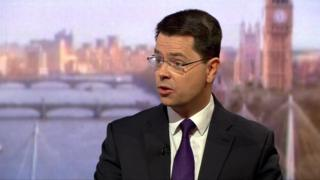Speaking on the BBC's Andrew Marr Show, James Brokenshire refused to be drawn on direct rule