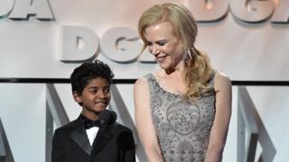 Sunny Pavard and Nicole Kidman