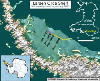 ice shelf break up
