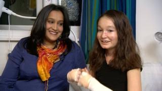 Sohana and her mum Sharmila