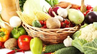 alimentos, frutas, alho, milho