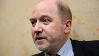 French left-wing MP and vice president of the National Assembly Denis Baupin - April 2015