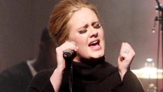 Adele in 2011
