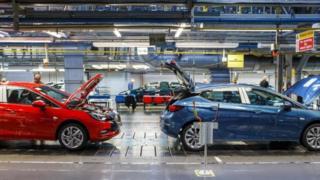 مصنع بريطاني لسيارات فوكسل التابعة لشركة اوبل الألمانية