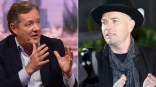 Piers Morgan and Ewan McGregor