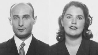 Joan Pujol y su esposa Araceli