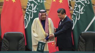 چین و عربستان