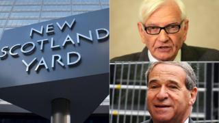 Scotland Yard sign, Harvey Proctor, Lord Brittan