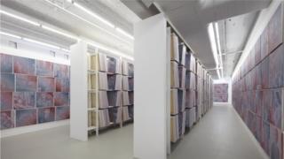 آثار راب پرویت، هنرمند آمریکایی، در گوین براون