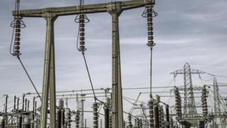 Electricity substation, undated image