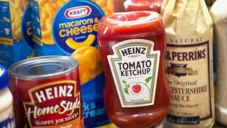 Productos de la compañía Kraft Heinz.