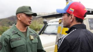 Venezuela opposition appeals to army
