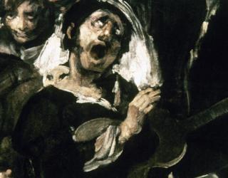 Detail from Goya's Pilgrimage to San Isidro