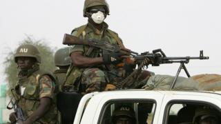 African Union troops